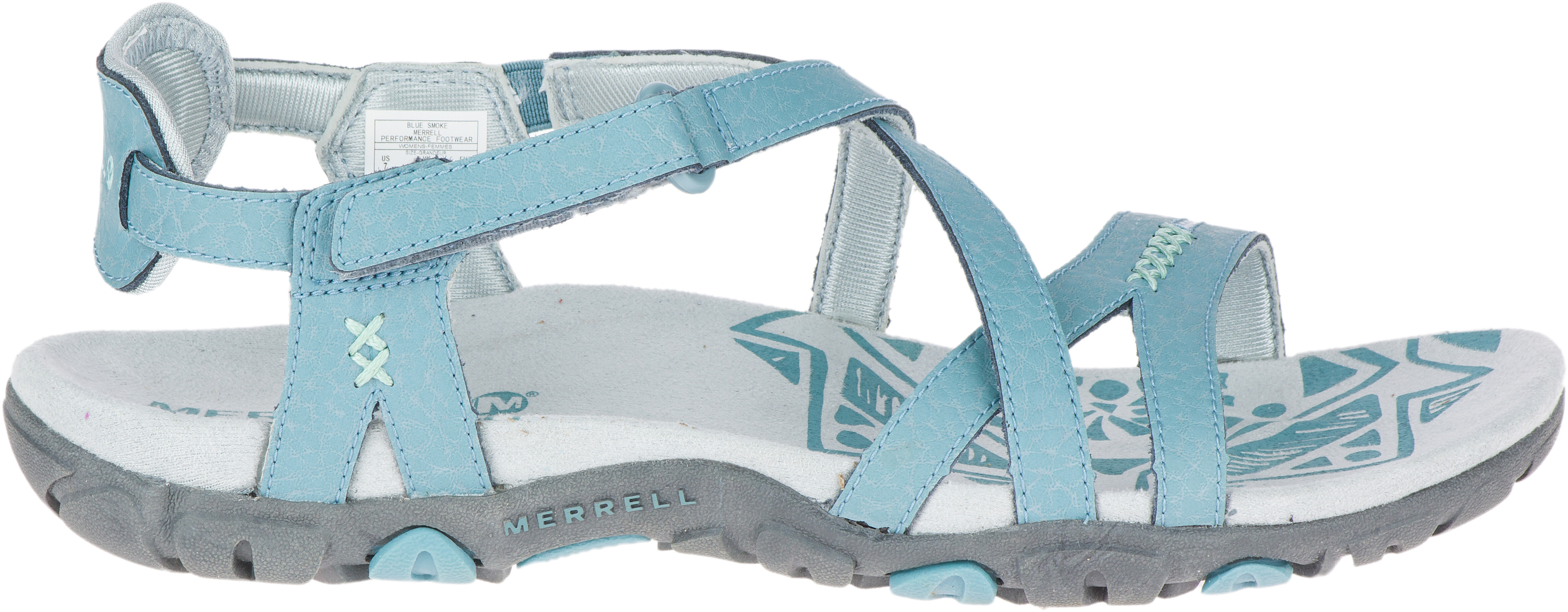 d0d864b78567 Merrell Sandspur Rose LTR Sandals Women grey turquoise at Addnature ...